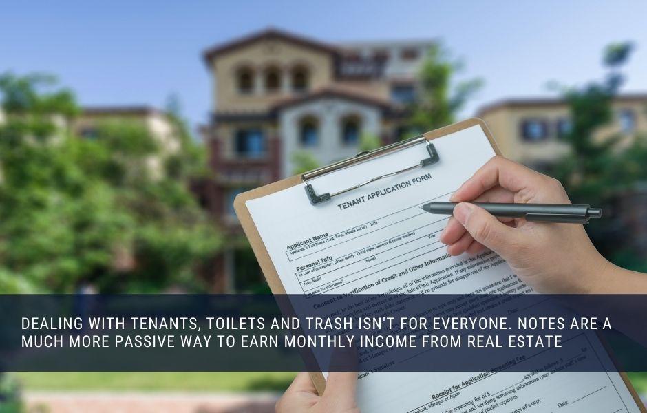 Real estate Notes vs Rental Properties