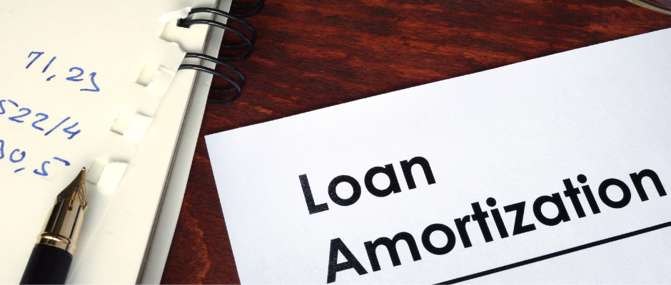 Amortized loans are paid back in the form of capital and interest payments
