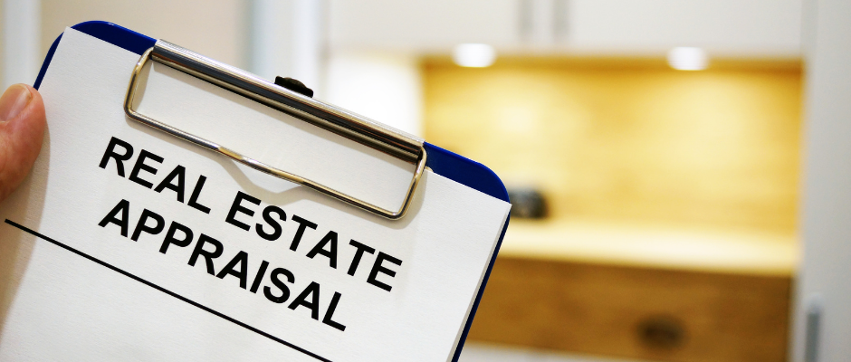 You need more than an apprasial to determine the disposal value of real estate