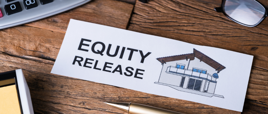 If you won real estate you can use notes to release equity