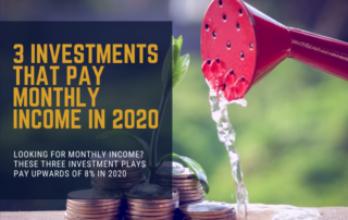 Investments for Monthly Income