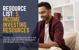 5 Income Investing Resources