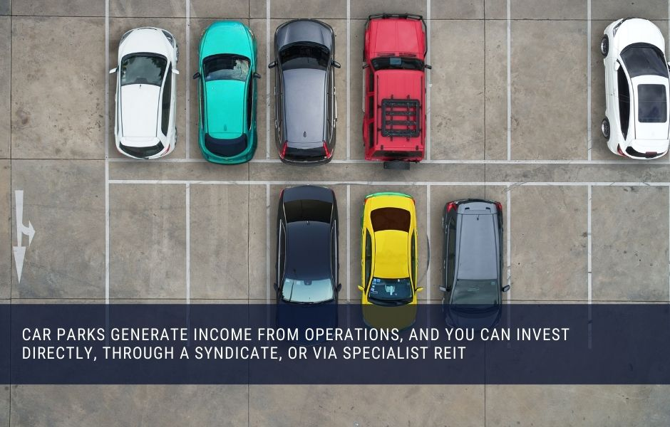 Car park investments pay out monthly income from operations