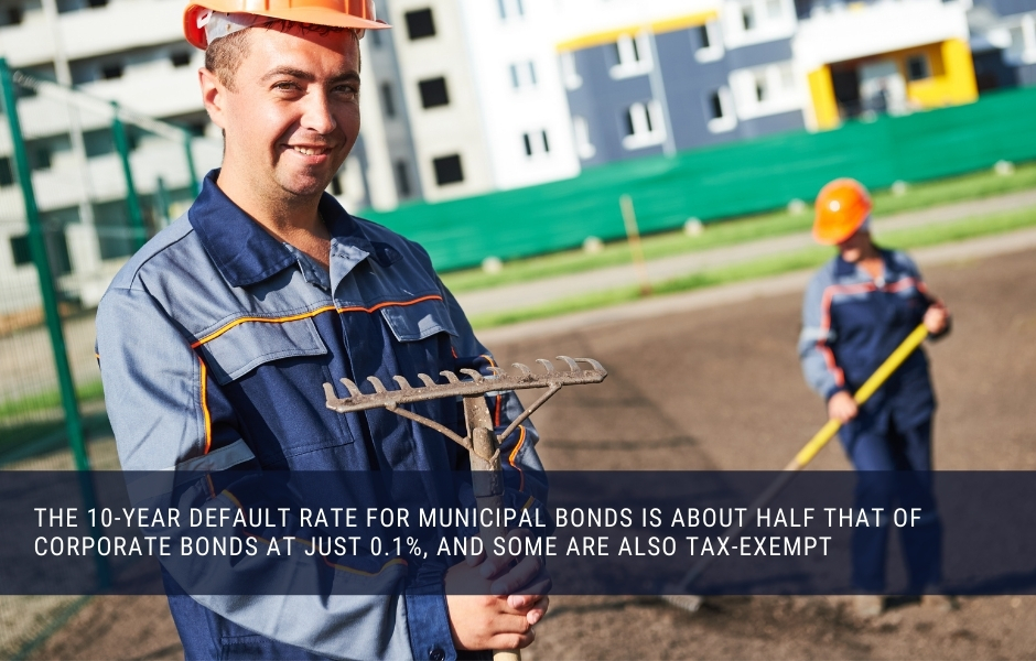 Local governments issue municipal bonds to pay for ongoing costs and infrastructure projects