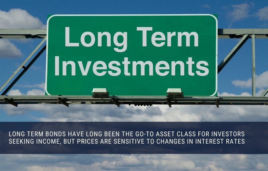 Long term bonds can produce monthly income, but are more sensitive to interest rate volatility