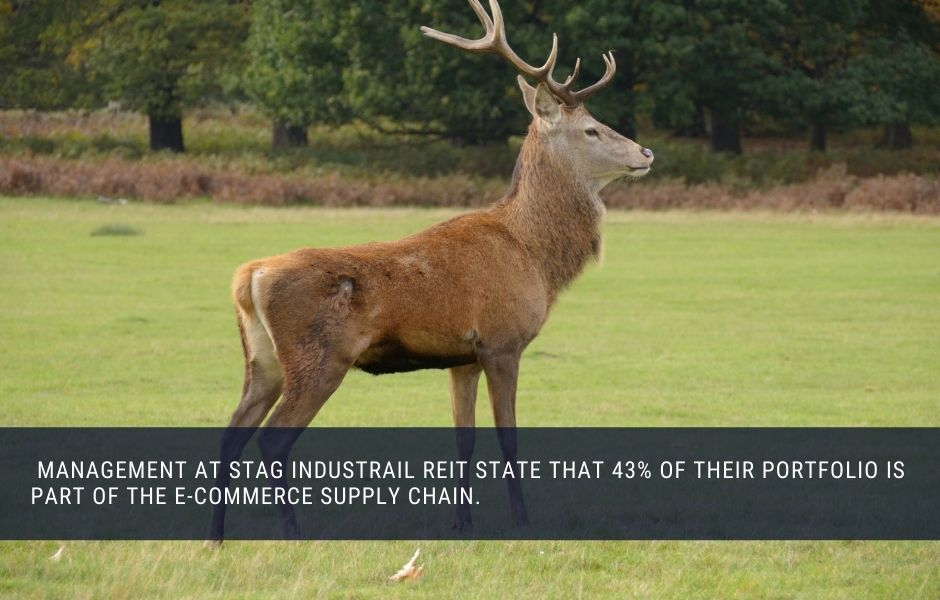 STAG Industrial REOT invests in logistics property and pays monthly dividends