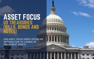 US Treasury Bonds Bills and Notes