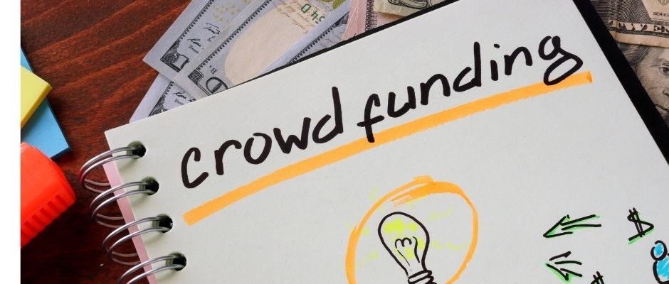 Crowdfunding offers a wayt to buy real estate notes as part of a group of investors