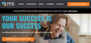 PPR Note Co have multiple note investment fund offerings