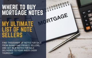 Where To Buy Mortgage Notes and Mortgage Notes For Sale