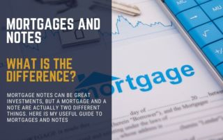 What is the difference between a ,mortgage and a note?